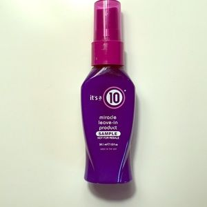 it's a 10 Miracle leave-in spray